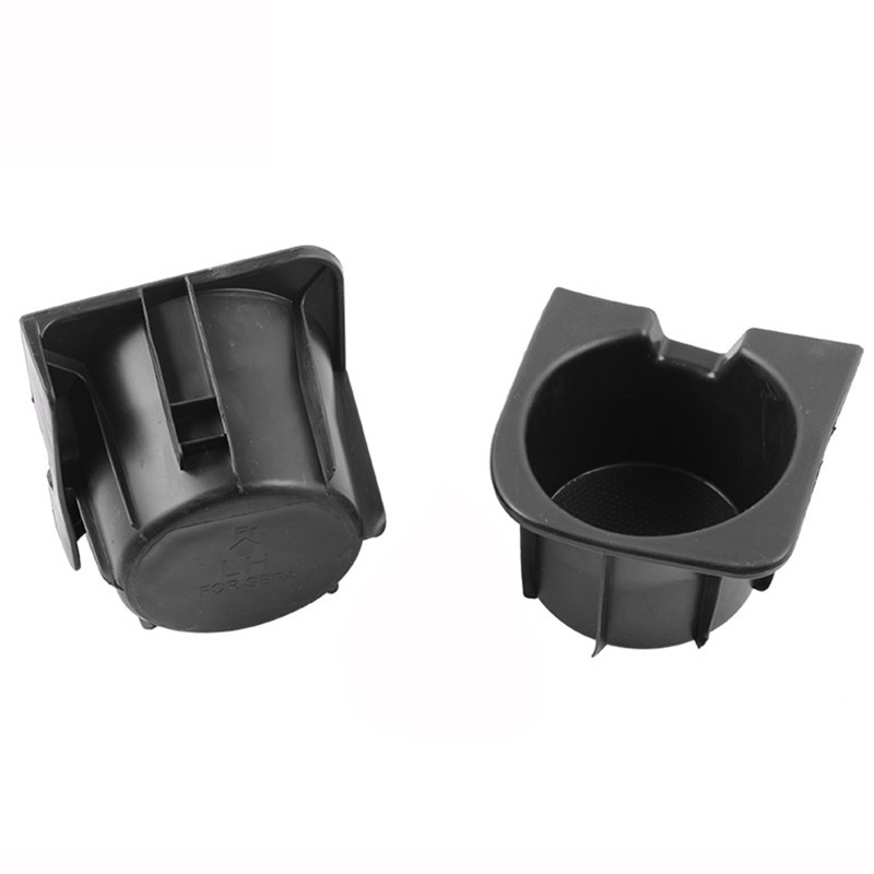 2pcs Center Console Right Left Cup Holder Insert For 2005-2017 Toyota Tacoma