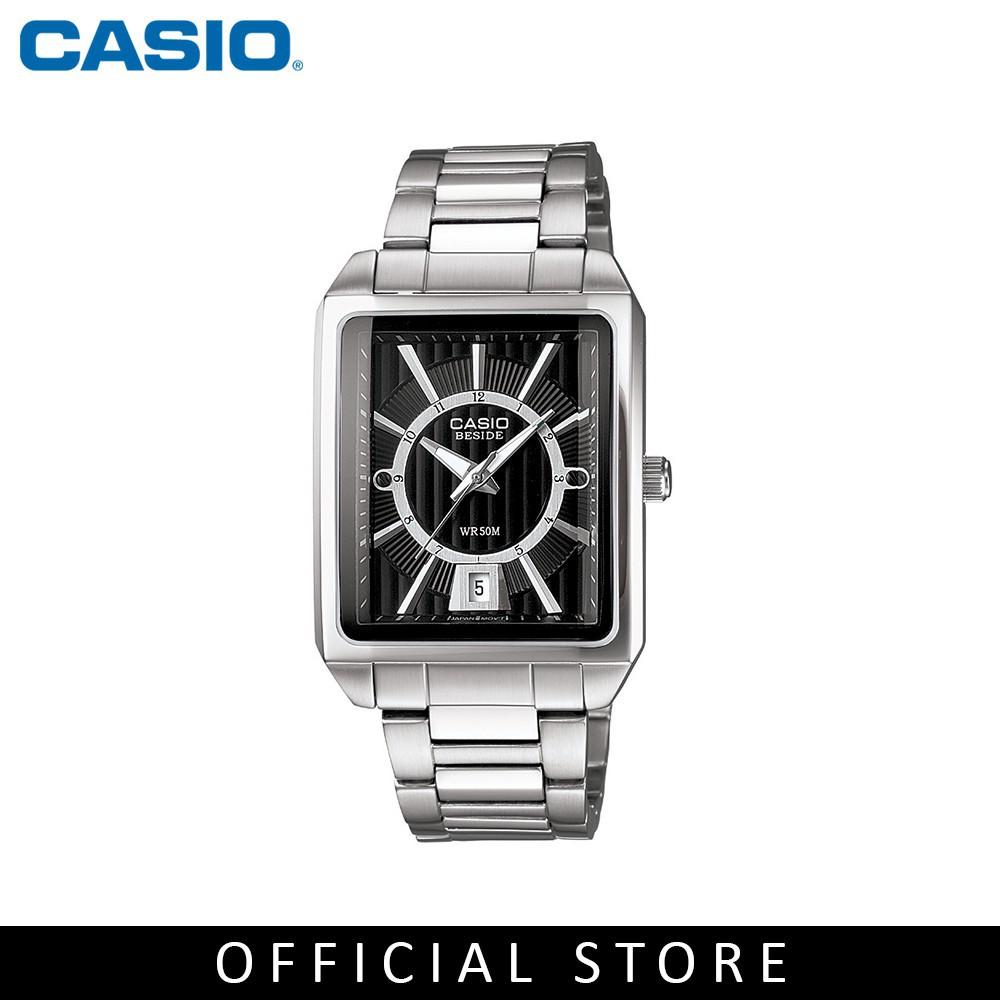 Zuren Casio General Mtp 1353d 8b2 Silver Stainless Steel Band Men 1302d 1a2 Strap Jam Tangan Couple Watch Shopee Singapore