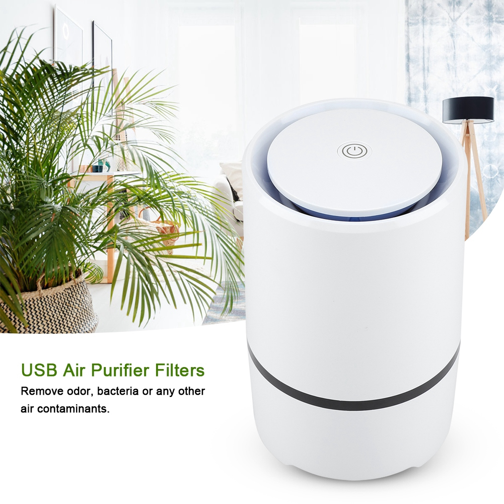 USB Air Purifier Hepa and Active Carbon Active