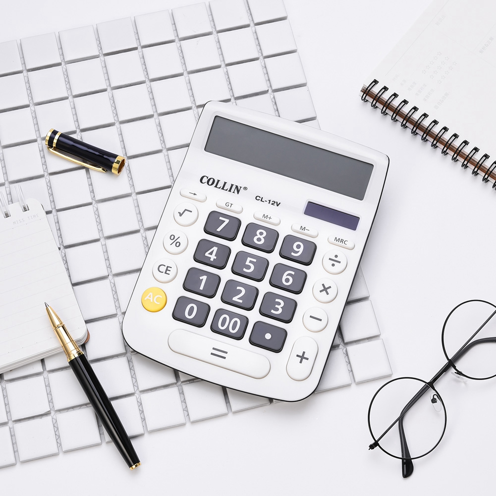 Large Plastic Office Business Student Student Calculator