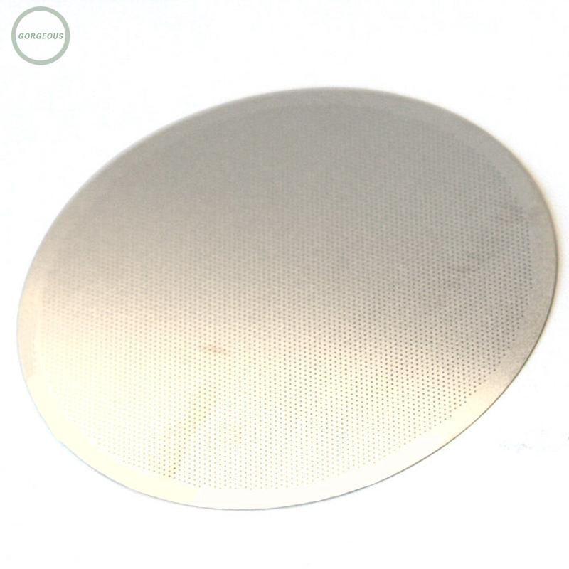 New Mesh Replacement Metal Steel Ultra For AeroPress Filter Disc Fine Stainless