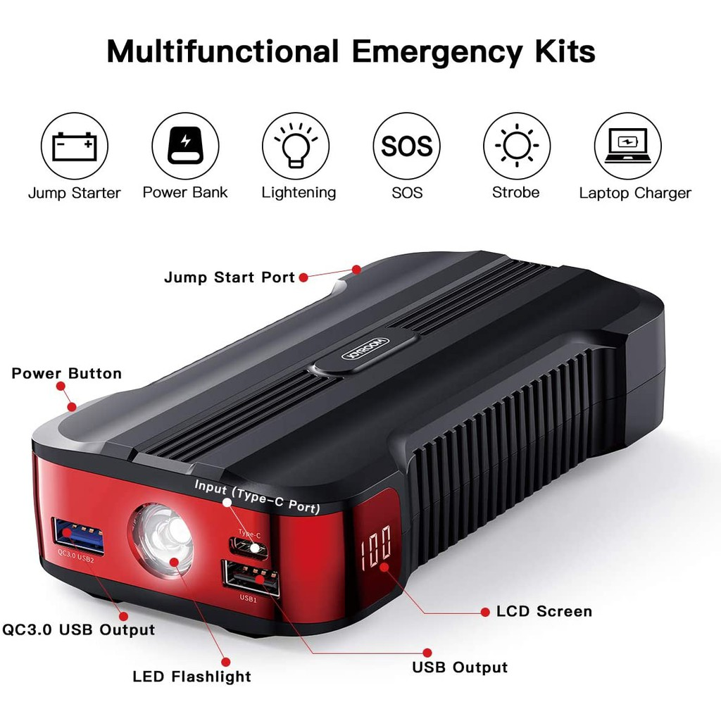 Car Jump Starter Price And Deals Nov 2020 Shopee Singapore