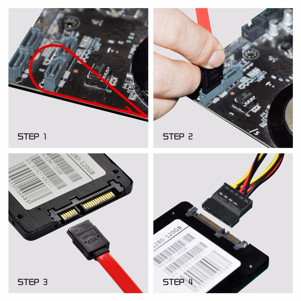 5pcs SATA II 2.0 Cable 3GB//S Straight Data Cord Serial ATA HDD Lead Line 40cm