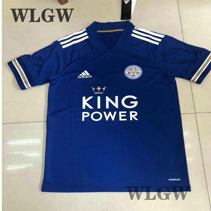 【WLGW】Football Jersey 2020/21 Leicester city Home Jerseys ...