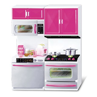 New Kids Role Play Kitchen Play Set Toy Pretend Play Kitchen With Dolls