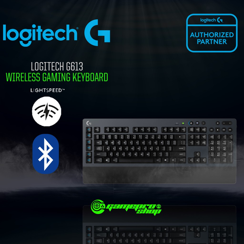 Logitech G613 (920-008402) Wireless Mechanical Gaming Keyboard