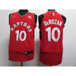 on sale 5bc23 44437 2018 Original Nike NBA Toronto Raptors DeMar DeRozan #10 red ...