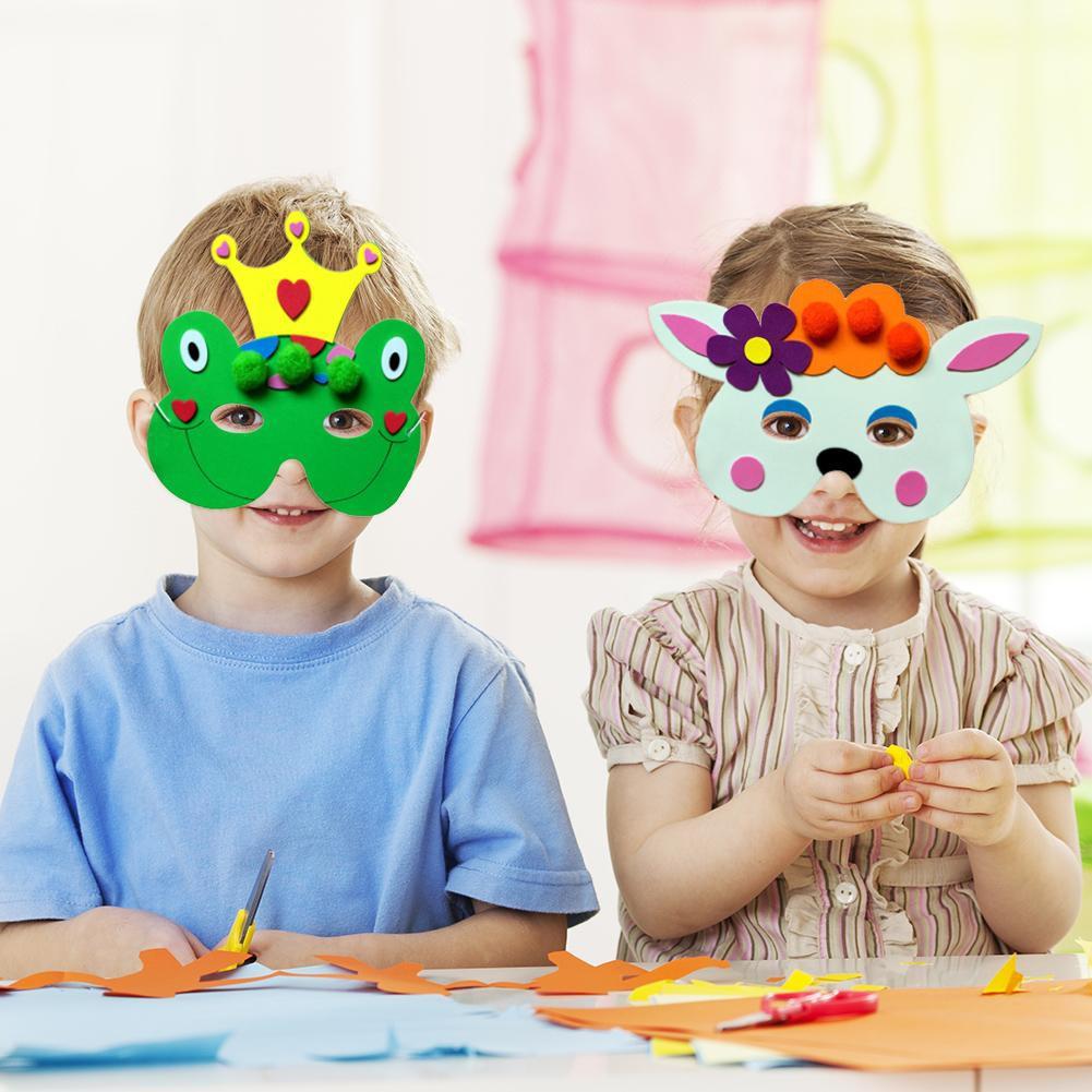 DIY Masquerade Cosplay EVA Cartoon Mask Kindergarten ...