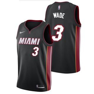 buy popular 5cd83 f5872 2018 Original Nike NBA Miami Heat Dwyane Wade #3 black ...