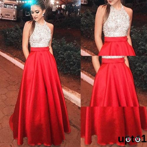 Party Ball Gown Prom Bridesmaid Dress