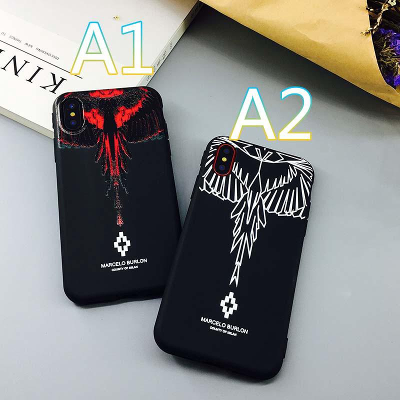 informazioni per 7925b 4a17a Marcelo burlon MB wings IPhone 6s Plus 7Plus X 6 8 Cover ...