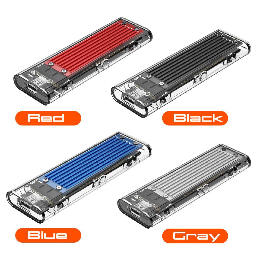 ORICO Transparent USB3 1 Gen2 Type-C M 2 NVME SSD HDD