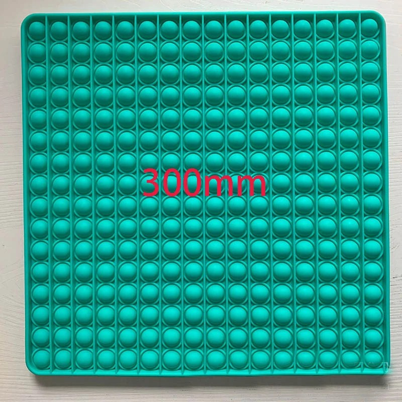 (Ready Stock) SUPER BIG SIZE 30cm Fidget Toys Square Antistress Toy Push Bubble Figet Sensory Squishy toy