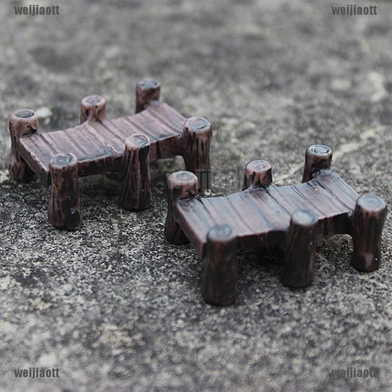 Micro Landscape Resin Figurines