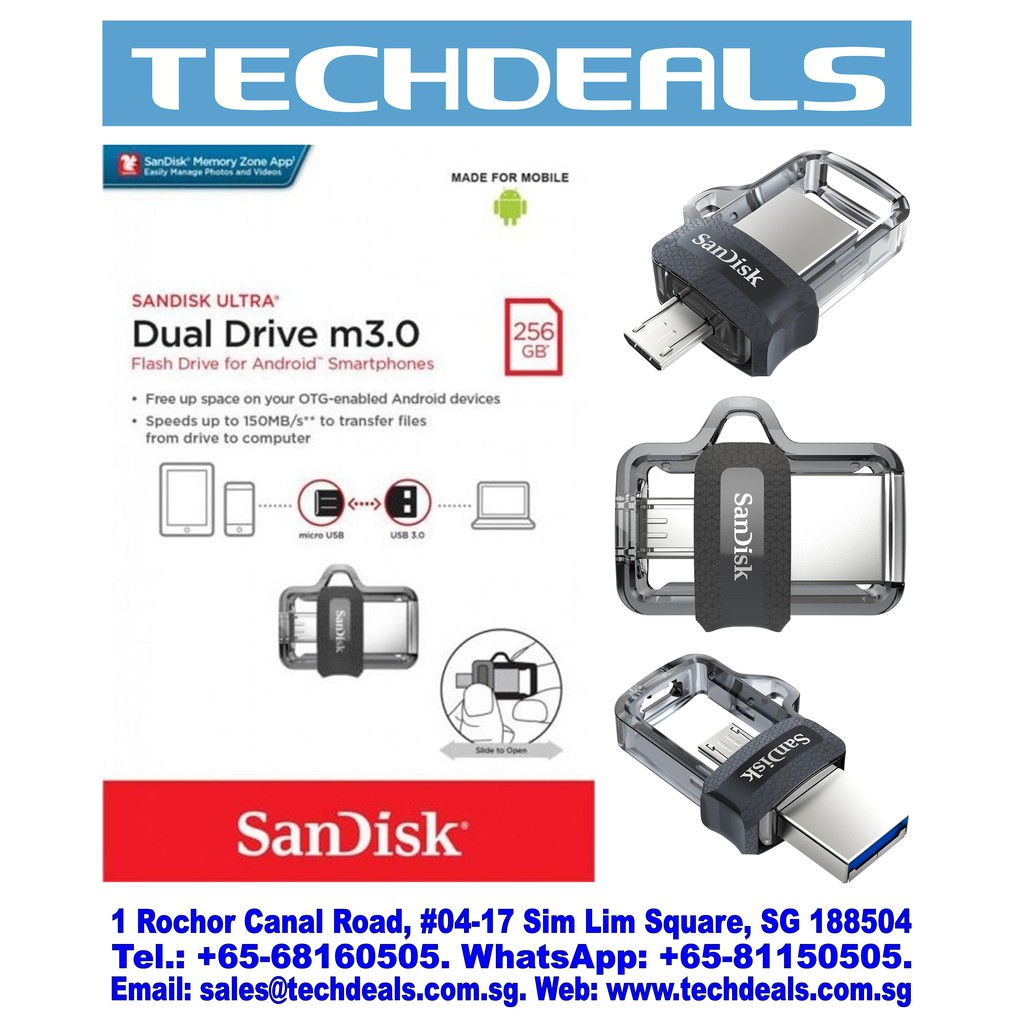 Sandisk Drive Memory Cards Price And Deals Mobile Gadgets Nov Otg 32gb 150mb S Usb 30 Dual Garansi Resmi 2018 Shopee Singapore