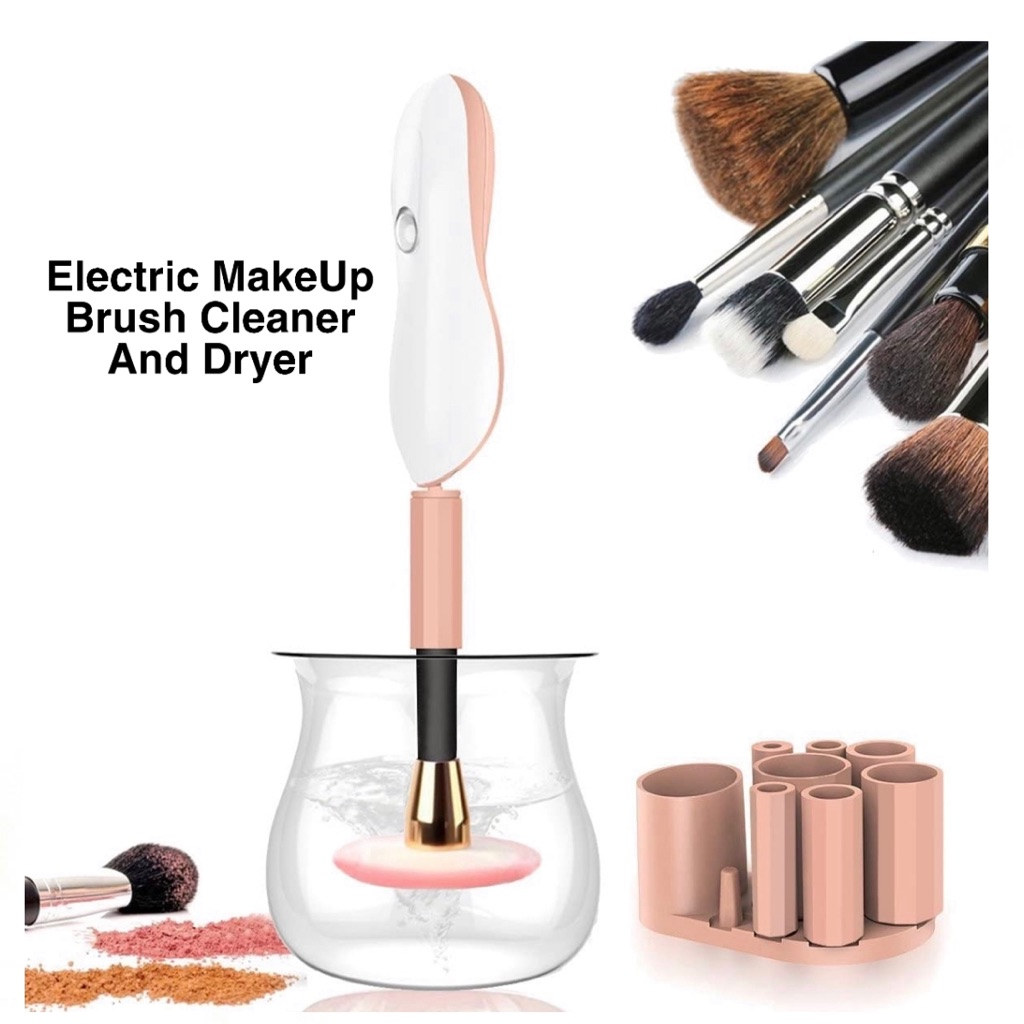 Electric Makeup Brush Cleaner Fast