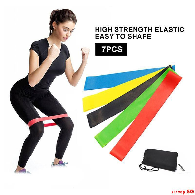 5 PCS Resistance Loop Bands Fitness Bands for Legs Butt Yoga Strength Training