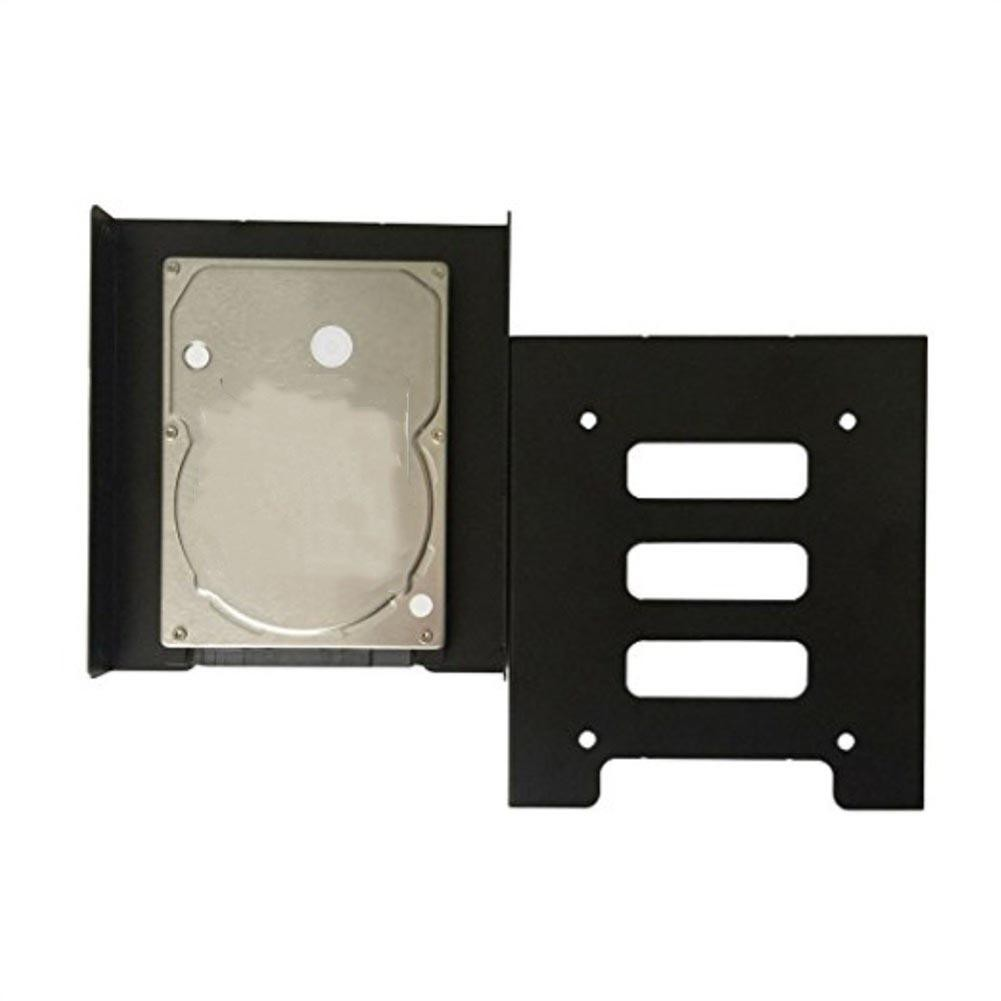 Fa 2 5 Inch SSD HDD to 3 5 Inch Metal Mounting Adapter Bracket Dock Hard  Drive
