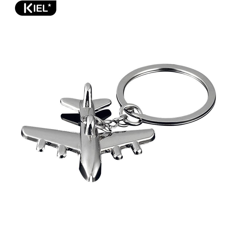 3D Simulation Model airplane plane Keychain Key Chain Ring Keyring Gift th