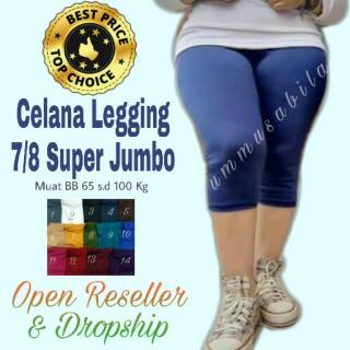 Yoga Fitness Leggings Zumba Super Jumbo Celamis Leggings Yoga Pants Leggings Gamis Big Size Shopee Singapore