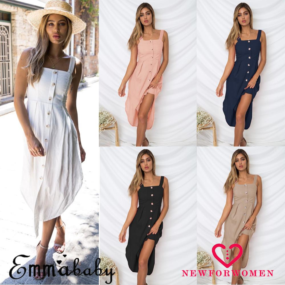 b8321e00f6e4 Floral Halter Midi Dress | Shopee Singapore