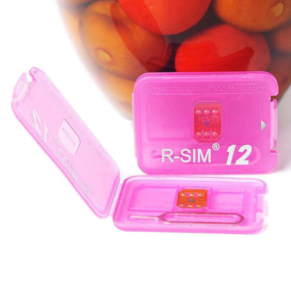 ҉Universal R-SIM 12 RSIM12 Unlock Card | Shopee Singapore
