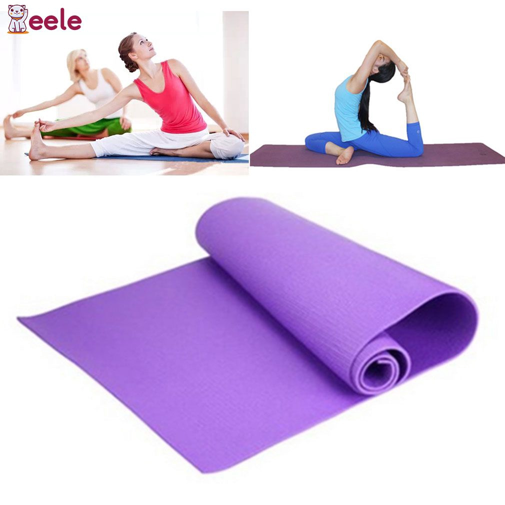 Ropa De Hombre 10mm Thickened Non-slip Nbr Yoga Mat Fitness Exercise Sports Gym Pilates Mat Tear Resistant With Yoga Mat Bag And Strap 183x61cm Latest Technology