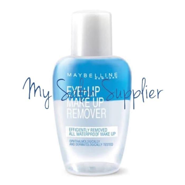 Maybelline Eye Lip Make Up Remover 40ml Shopee Singapore