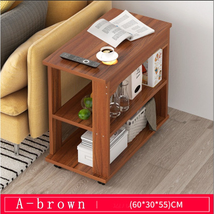 Sofa Side Cabinet Living Room Small Coffee Table Solid Wood