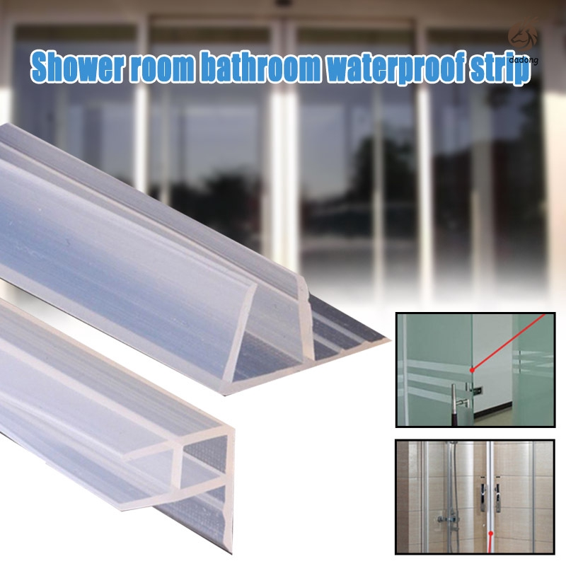 3 meters h shape silicone rubber shower room screen door edge trim glass seal