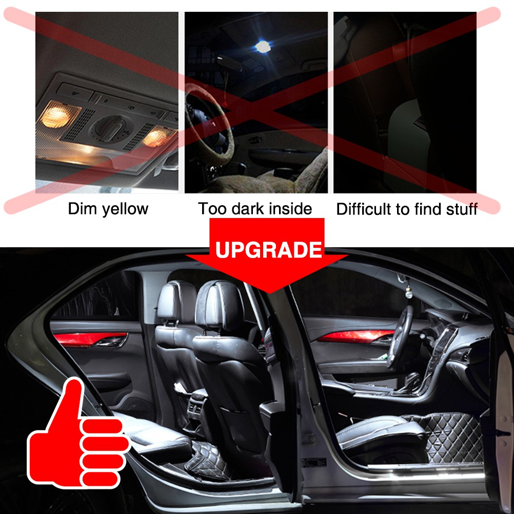 X2 STRIPS LED FOOTWELL UNDER CAR BOOT INTERIOR SMD WHITE FLEXIBLE FLOOR ENGINE