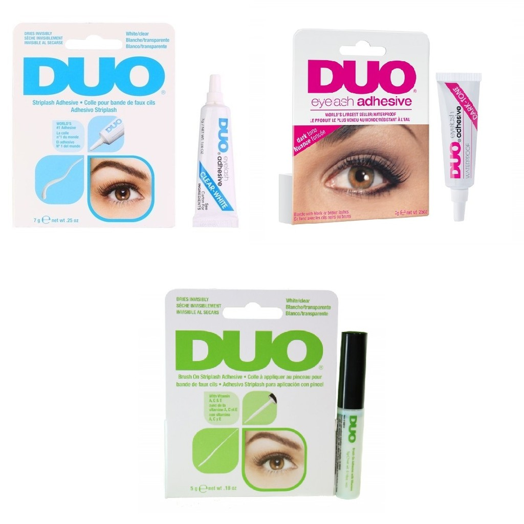 170d098509f DUO Ardell DUO Eyelash Adhesive in CLEAR / DARK / BRUSH-ON   Shopee  Singapore
