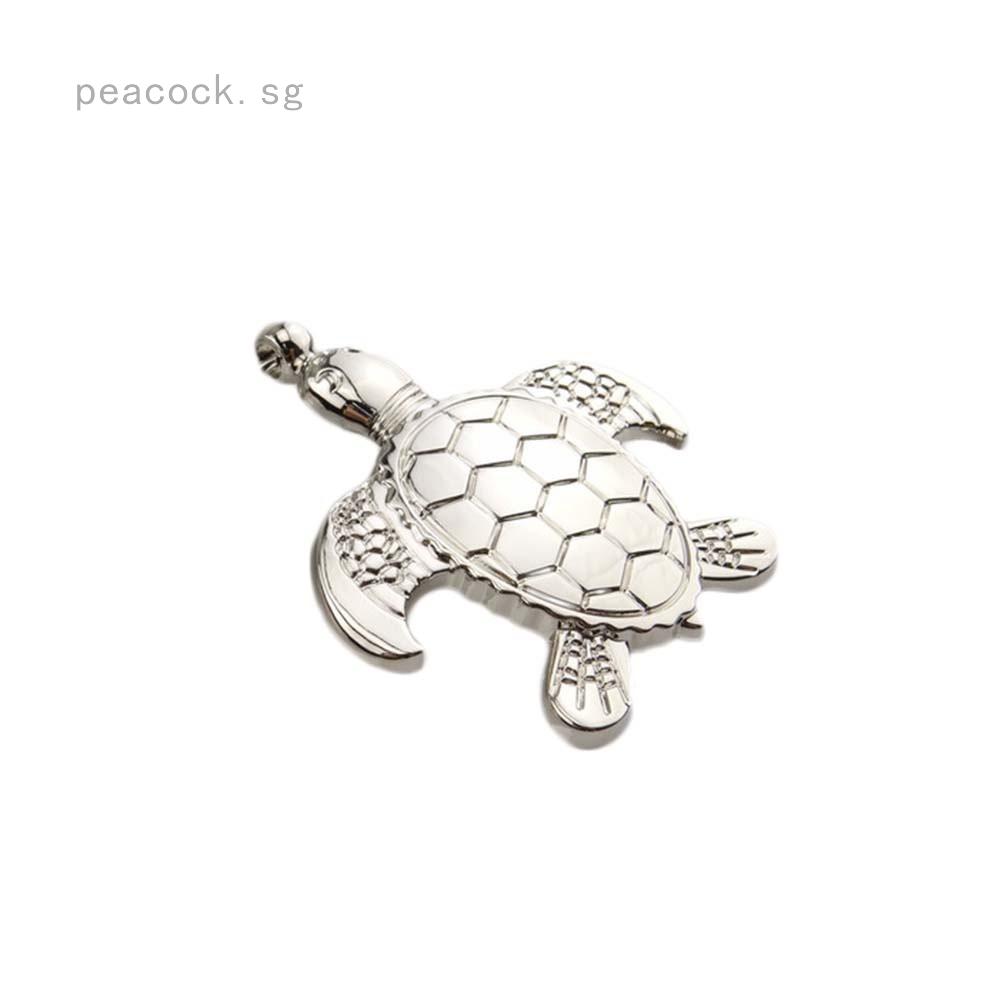 Creative Simulation Metal Sea Turtle Key Ring Keyring Keychain Pendant Gift 1pc