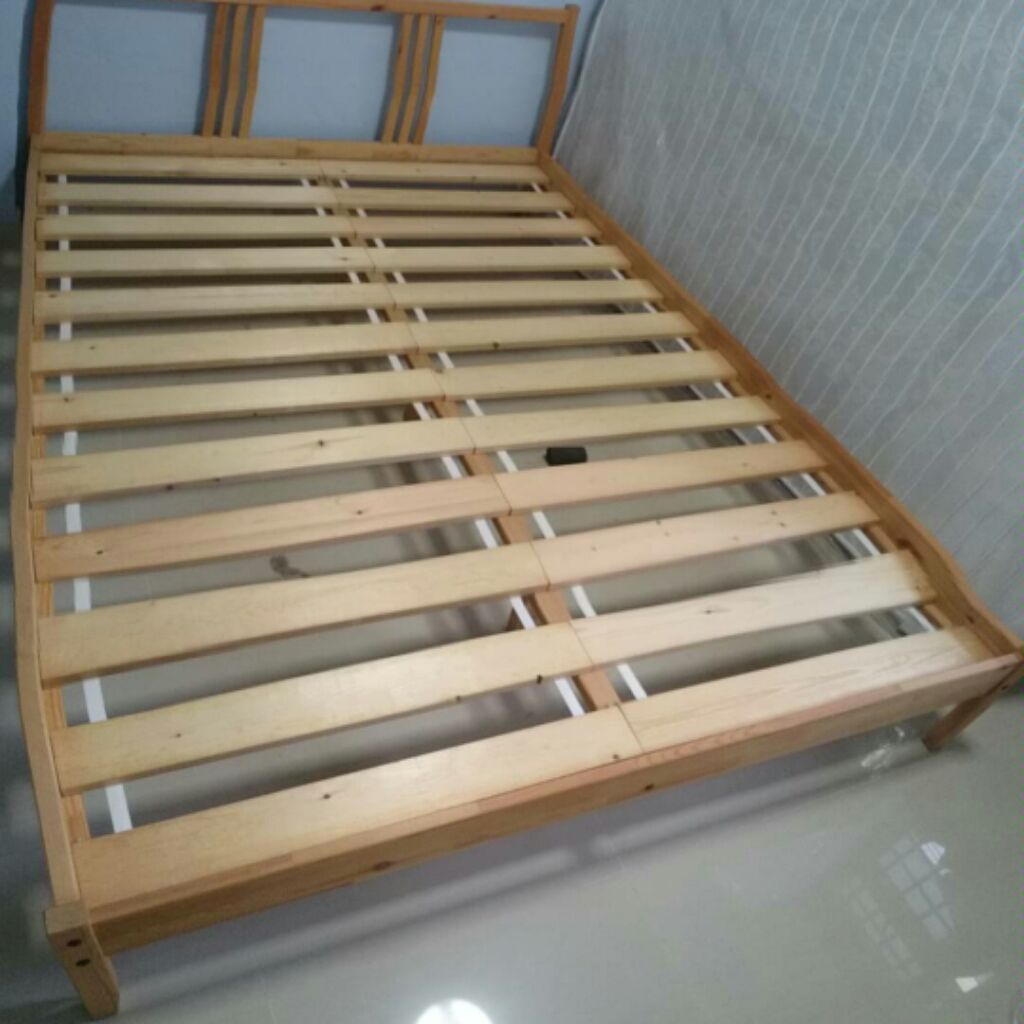 Queen Size Bed Frame From Ikea Sho