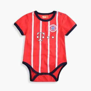 super popular d43ad 1739d Newborn Baby Cotton Romper Bayern Munich Jersey Infant ...