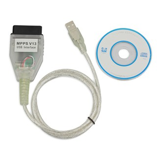 MPPS V13 Interface VAG USB Cable OBDII OBD2 for VW AUDI BMW