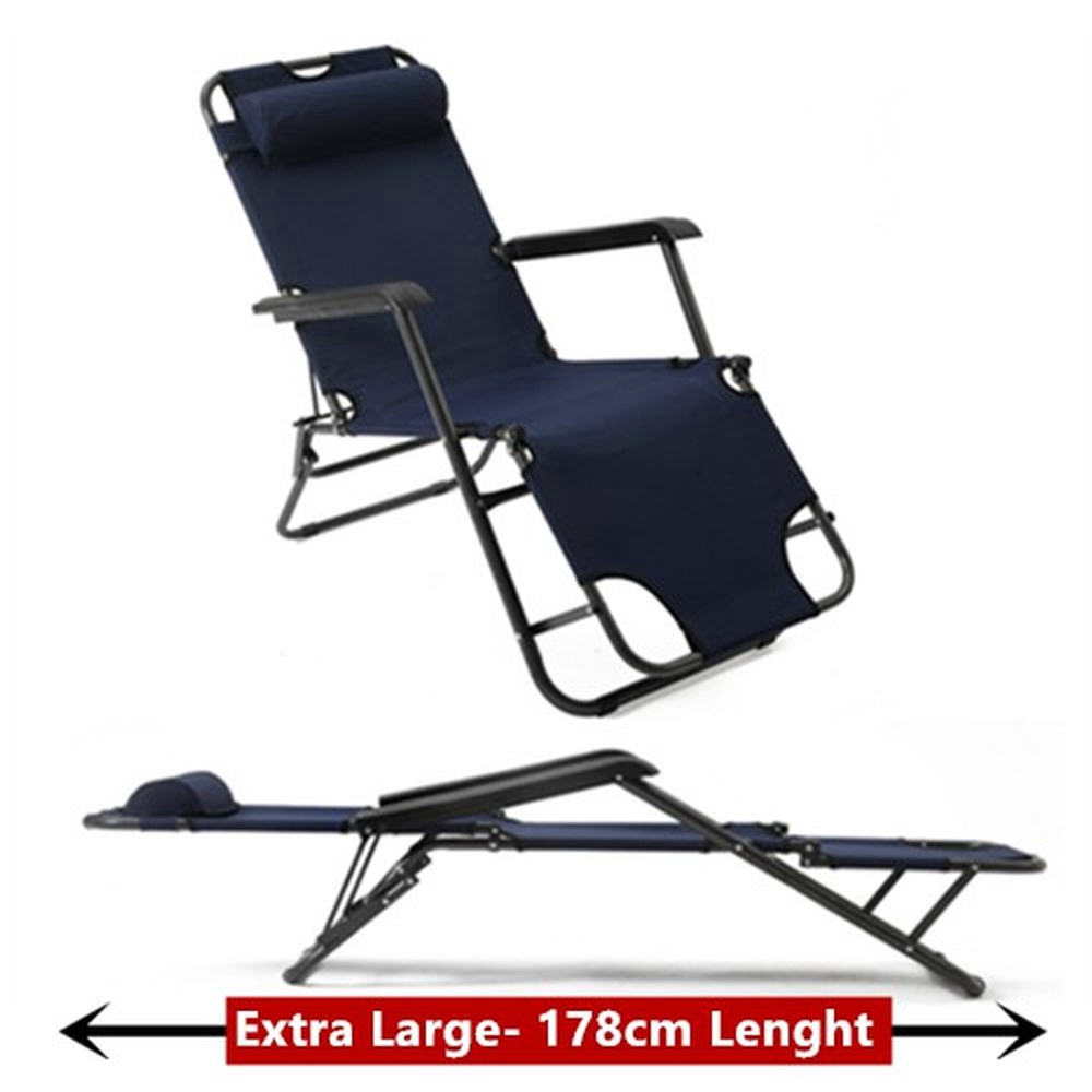 - Foldable Folding Outdoor Napping Lazy Camping Single Bed Chair