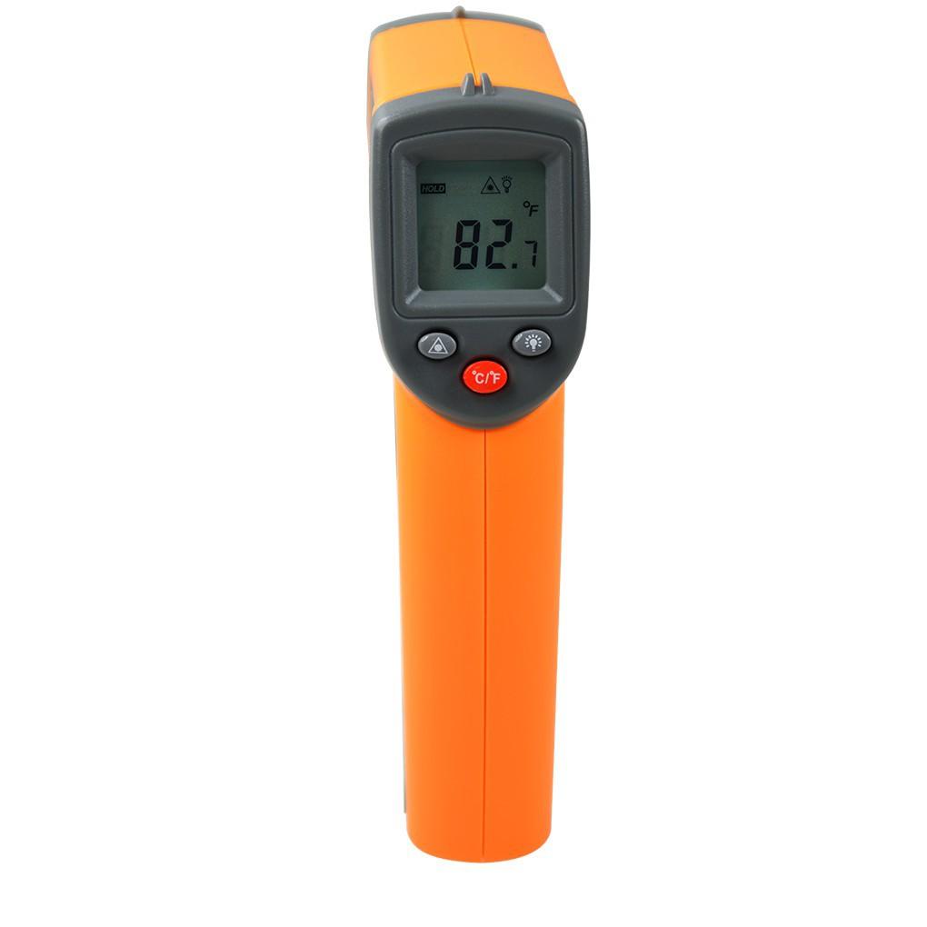 Digital IR Infrared Non-Contact Temperature Meter -50~360℃ -58~680℉  Pyrometer2fire good