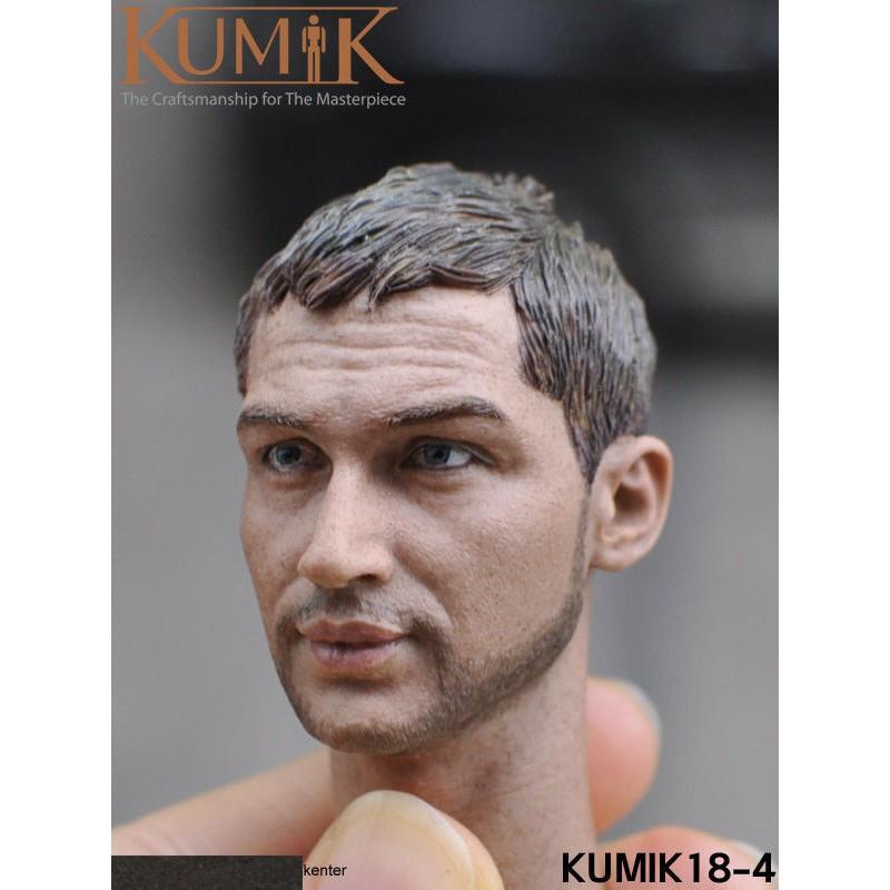 "1//6 Male Head Sculpt KUMIK18-4 Europe Man Head For phicen 12/"" Action Figures"
