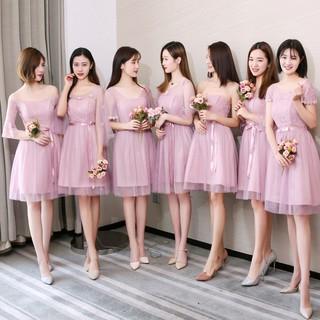 Bridesmaid Costume Sisters Temperament Party Dresses Girlfriends Dresses Midi Dress