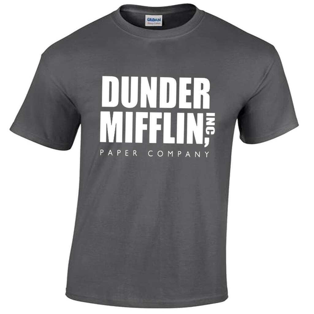Dunder Mifflin Women Funny The Office Unisex Printed T-shirt Gift Tee Top