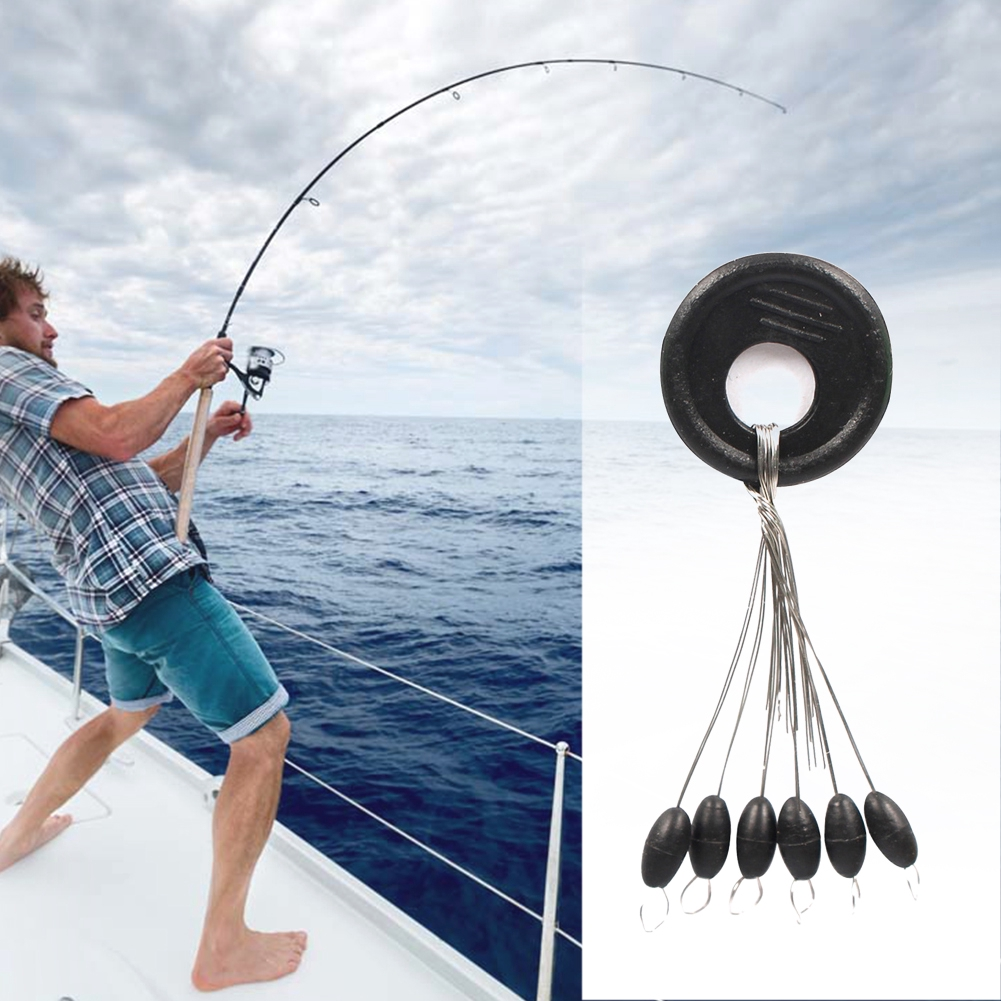 Durable Fishing Bobber Stopper Float Space Bean Stops Line//Olive Shape