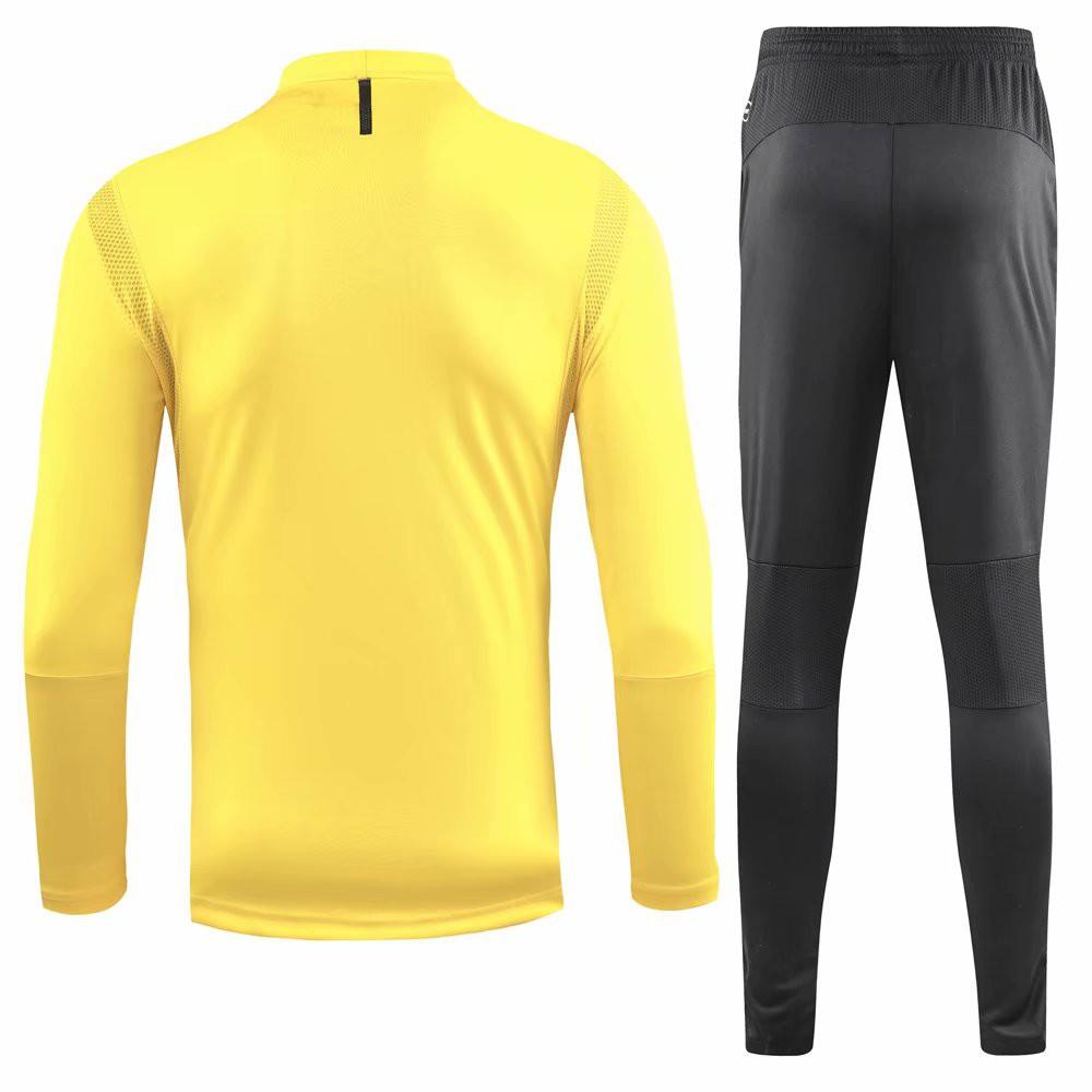 cheap for discount 14a72 b7375 1819 Borussia Dortmund yellow Training jersey Suit Men Sports Set