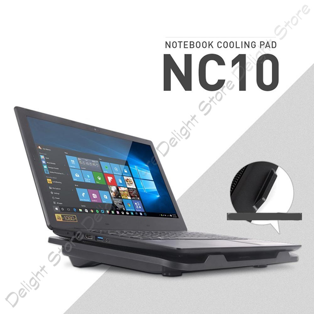 Deepcool U Pal Notebook Cooler Channel Cooling With Two 14cm Fan Coolerpad Nc 32 Shopee Singapore