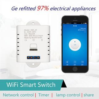 SW1_16W SW1_10W Wifi Wireless Switch Remote Relay Module