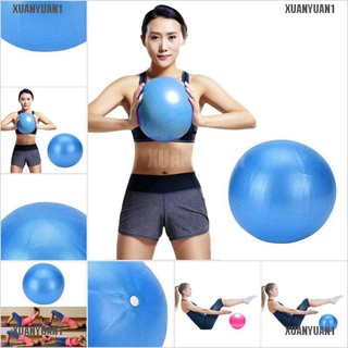 Colourful 25cm Mini Yoga Fitness Ball Exercise Gym Balance Pilates Training PVC