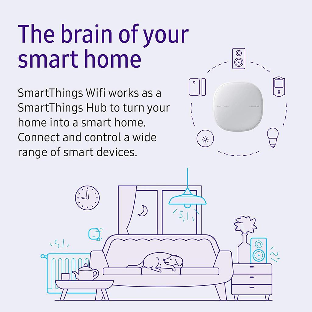 Samsung SmartThings Wifi Mesh Router Range Extender