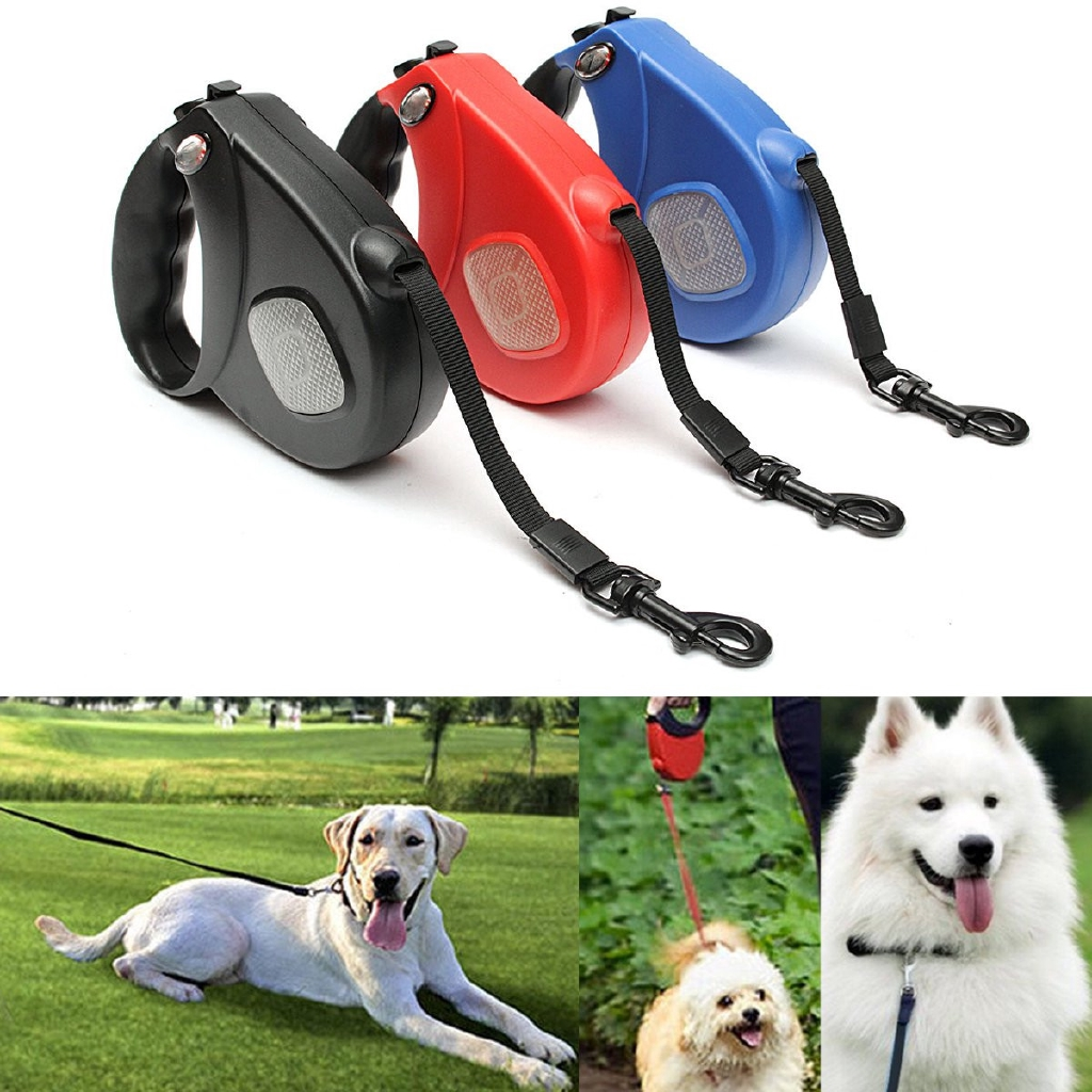 Automatic Retractable Pet Dog//Cat Puppy Traction Rope Walking Lead Leash 10ft 3M