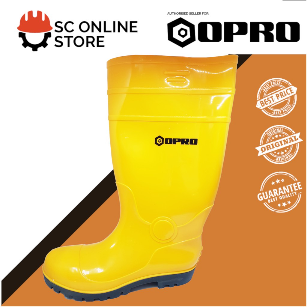 Opro Safety Shoes Wellington Boot