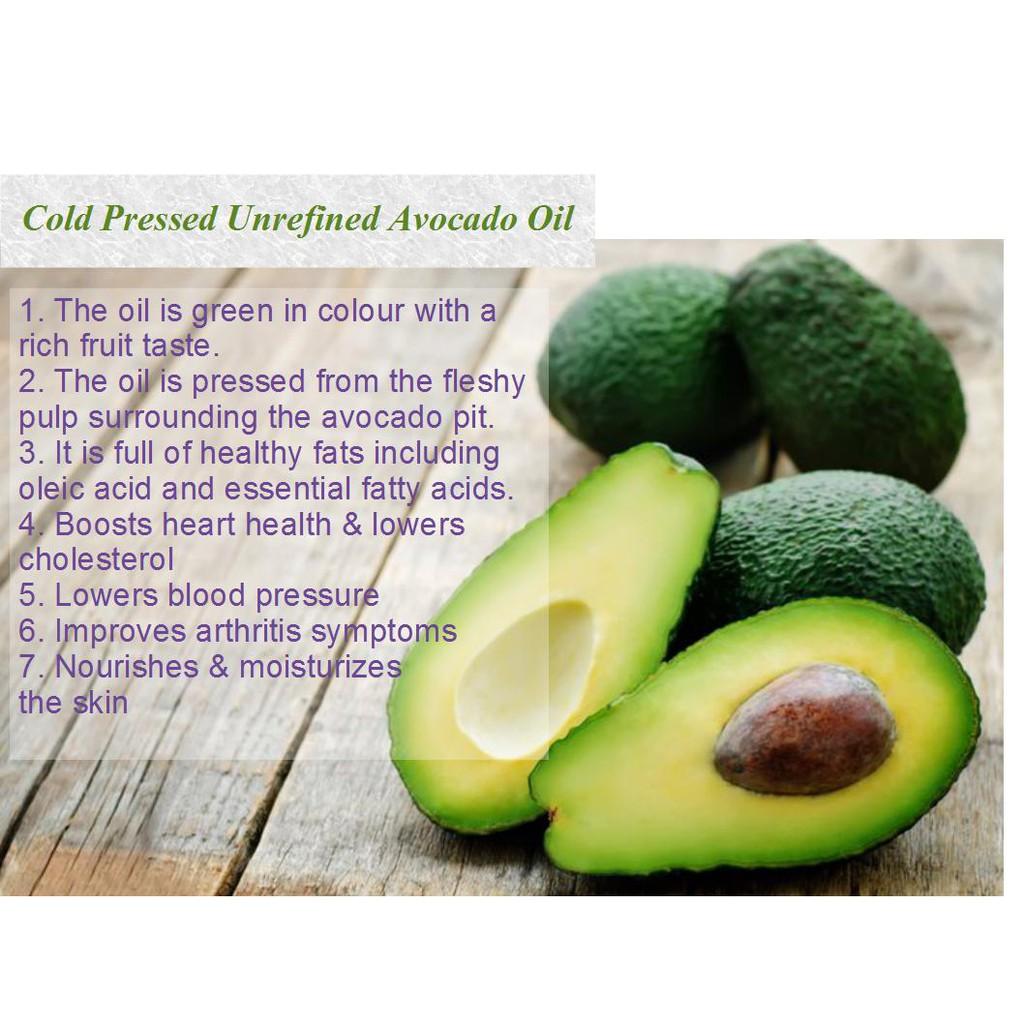 Sunno Premium Cold Pressed Unrefined Avocado Oil 250ml | Shopee Singapore